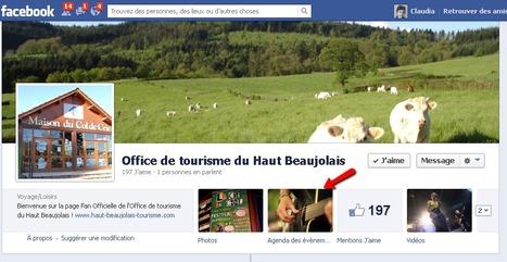 Page Facebook de l'Office de tourisme du Haut Beaujolais | Sites qui ont implémenté les Widgets Sitra | Scoop.it