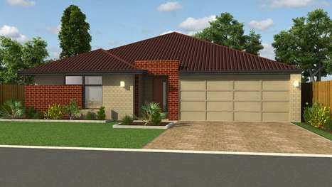 Beautiful Exterior Detailing of Roof Home Design in 3D   CAD Outsourcing Services   Scoop.it