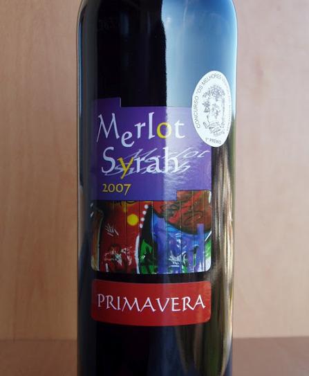 O Puto (Bebe): Primavera — Merlot e Syrah '2007 | Wine Lovers | Scoop.it