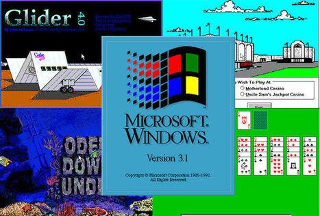 1500 jeux et logiciels pour Windows 3.1 lâchés dans la nature | Freewares | Scoop.it