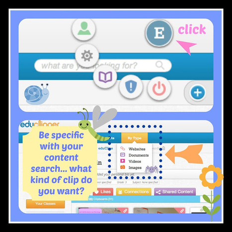 Kleinspiration: If you like Pinterest and Edmodo, you'll love eduClipper! | Missouri and the Common Core | Scoop.it