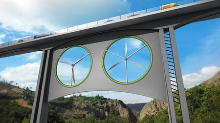 Are bridge-mounted wind turbines a viable option? | Sustainable Futures | Scoop.it