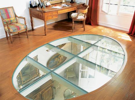 [dossier] Cloisons, planchers et décors en verre | Immobilier | Scoop.it