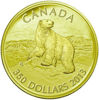 Wildlife Abounds on New Canadian Gold and Silver Kilo Coins | Coin Update | Wildlife | Scoop.it