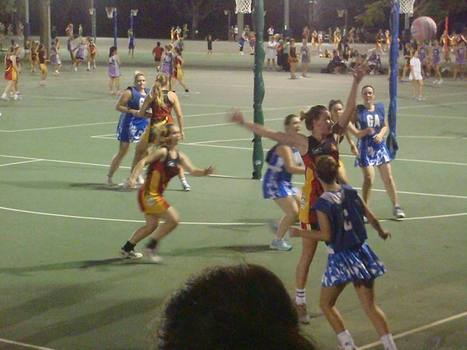 Daina - Netball Player | OHS Issues with Work & Leisure | Scoop.it
