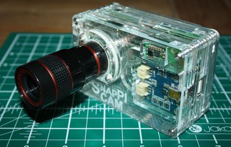SnapPiCam: cómo hacer una cámara compacta con Raspberry Pi | MSI | Scoop.it