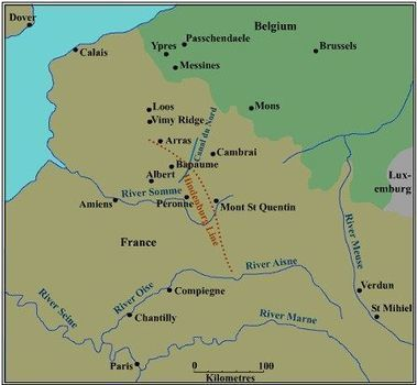 Diary of Trench Life and The Somme   WW1 Battle of Somme   Scoop.it