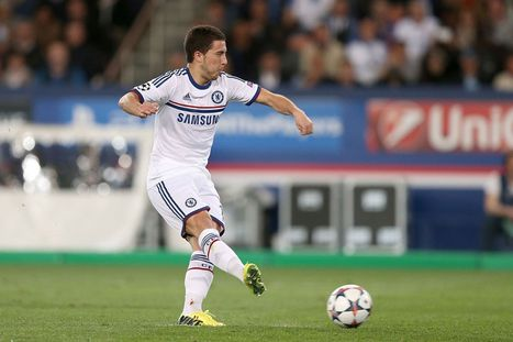 Chelsea suffer blow as Eden Hazard misses training ahead of Champions ... - Mirror.co.uk | Champions League | Scoop.it