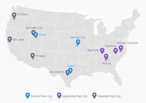Major New Google Fiber Expansion Shines Massive Spotlight On Lack Of Broadband Competition | Karl Bode | Techdirt | Media Funders | Scoop.it