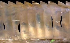 NASA scientists eyeing regional dust storm on Mars | Aviation News Feed | Scoop.it