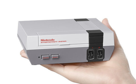 Nintendo NES Classic Edition is a $60 Nintendo NES mini Replica with HDMI Output, 30 Games | Embedded Systems News | Scoop.it