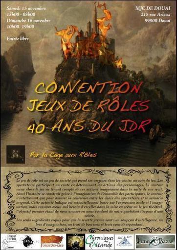 Convention Jeux de Rôles 40 ans du JdR   Jeux de Rôle   Scoop.it