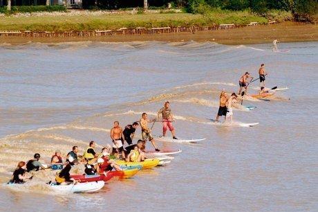 À Vayres, petit coefficient mais grande fête - Sud Ouest | Bienvenue dans l'estuaire de la Gironde | Scoop.it