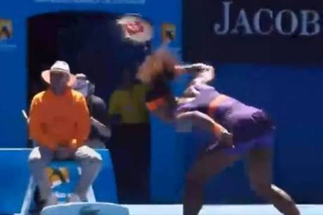 Vidéo : Serena Williams détruit sa raquette en plein match à l'Open d'Australie ! | Radio Planète-Eléa | Scoop.it