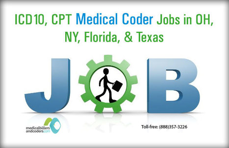 ICD-10, CPT Medical Coders required across FL, TX, OH, NY Jobs in New York City , New York | Medical Billing and Coding Jobs | Scoop.it