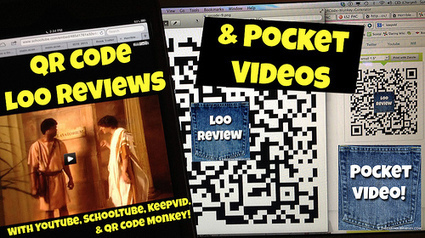 QR Code Loo Reviews & Pocket Videos | The Daring Librarian | Daring Ed Tech | Scoop.it