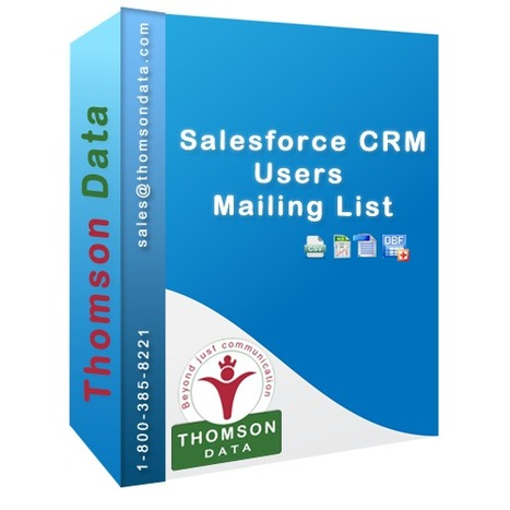 Salesforce CRM Users List by SIC Code - List of Salesforce.com Customers | Healthcare Database | Scoop.it