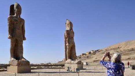 For The First Time In 3,200 Years, This Colossal Statue Stands Again  | News in Conservation | Scoop.it