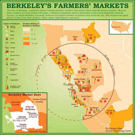 Guerrilla Cartographers Put Global Food Stats On The Map | geography of food | Scoop.it