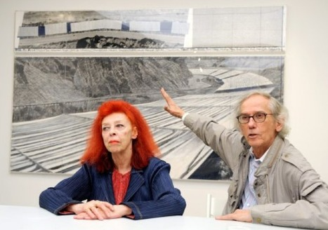 Christo's 'Over The River' Fabric Art Project Approved By Fremont County (PHOTOS, VIDEO) | images in context | Scoop.it
