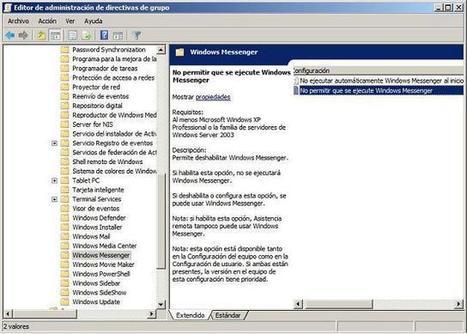 Directivas Generales | Aulas en red. Aplicaciones y servicios. Windows | SOR | Scoop.it