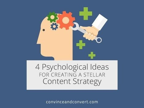 4 Psychological Ideas for Creating a Stellar Content Strategy | Techie, Geekery, and Gurus | Scoop.it