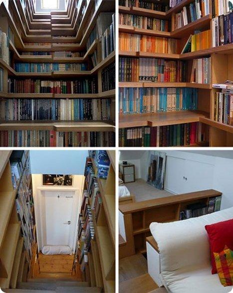 Top 56 des bibliothèques originales et insolites   bibliothèque   Scoop.it