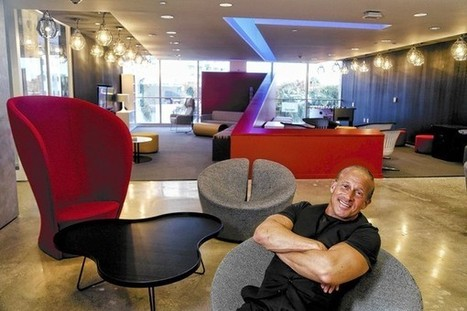 Advertising firm's new HQ brings collaboration and light | Collaborative Workspaces | Scoop.it