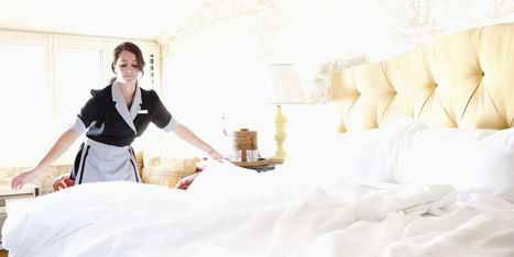 11 Cleaning Secrets to Steal From Hotel Maids | LifeStyle | Scoop.it