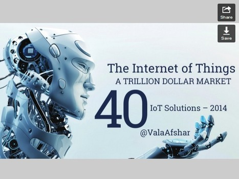 The Internet of Things: A Trillion Dollar Market | Ideas, Innovation & Start-ups | Scoop.it