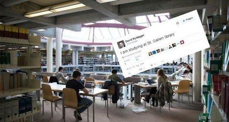 Der erste Schweizer Tweet war ein St.Galler | HSG Social News | Scoop.it