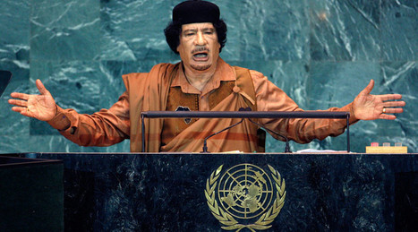 'We came, we saw, he died': How Gaddafi was hunted and brutally killed (TIMELINE) | Saif al Islam | Scoop.it
