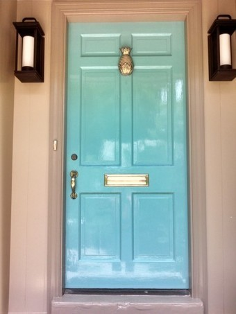 The secret to getting a shiny, painted door | House Painting | Scoop.it