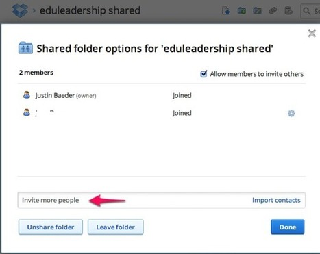 Does Your Team Need a Dropbox Shared Folder? | JOIN SCOOP.IT AND FOLLOW ME ON SCOOP.IT | Scoop.it