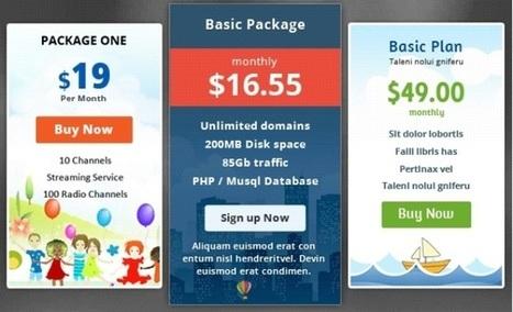 10 plugins pour ajouter des tables de prix sur WordPress | Entrepreneurs du Web | Scoop.it