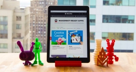 MakerBot lance son AppStore de l'impression 3D | FabLab - DIY - 3D printing- Maker | Scoop.it