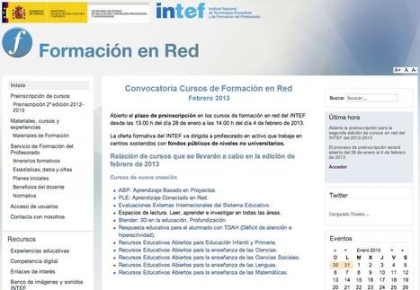 Curso en el INTEF sobre Entornos Personales de Aprendizaje ... | PLE Y EDUCACION | Scoop.it
