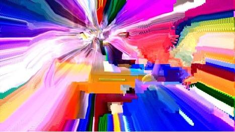 Twitter / royb0t: Getting kind of obsessed with ... | data glitching | Scoop.it