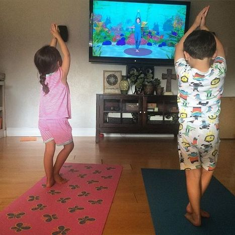 Yoga before bed! | Cosmic Kids Around The World! | Scoop.it