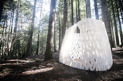 World's FIRST 3D Printed Architectural Structure: Entirely composed of 3D printed plant based bio-plastic | The Architecture of the City | Scoop.it