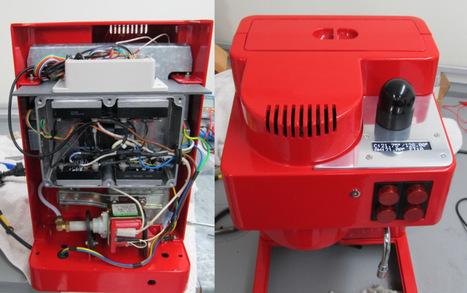 Restoring An Espresso Machine To The 21st Century - Hackaday | Raspberry Pi | Scoop.it