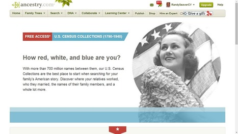 Census Records on Ancestry.com are FREE from 2 July Through 6 July | Généal'italie | Scoop.it