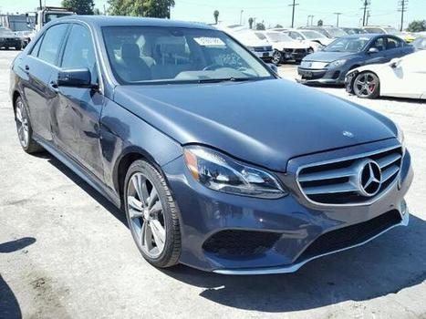 Salvage Cars 2014 Mercedes-Benz E350 for sale at Salvage Title Cars Auction | Online Auto Sale | Scoop.it