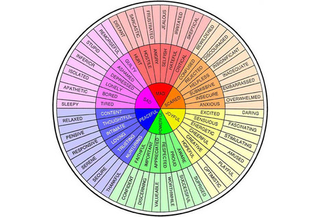 The Feeling Wheel | Emotional Intelligence Quotient | Scoop.it