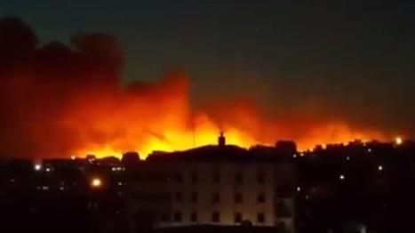 CNA: Turquía: Un gran incendio se desata cerca de la base de la OTAN en Esmirna | La R-Evolución de ARMAK | Scoop.it