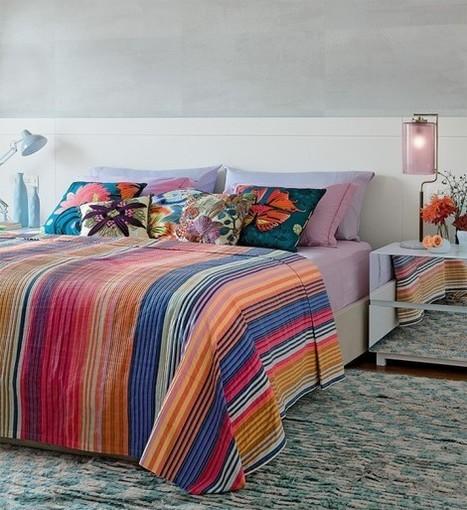 Chambre Thème tropical pour ceux qui aiment les couleurs decodesign / Décoration | Pièces par pièces | Scoop.it