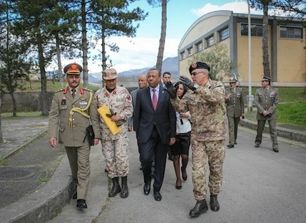 Second contingent of troops to arrive in Italy for training - Libya Herald | Saif al Islam | Scoop.it