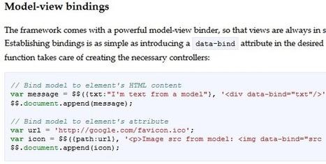20 JavaScript Frameworks Worth Checking Out   Nettuts+   Next Web App   Scoop.it