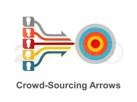 Crowdsourcing Model - Editable in PowerPoint | Items of Interest, Musings and Fun | Scoop.it
