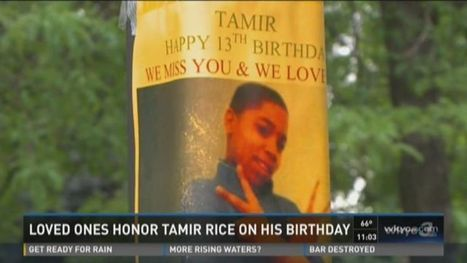 Tamir Rice's 13th birthday, family mourns at vigil | SocialAction2015 | Scoop.it